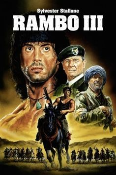 Cinema Cinema, Cinema Posters, Movie Posters, Cult Movies, Action Movies, Sylvester Stallone Rambo, Rambo 3, Stallone Movies, Movie Captions