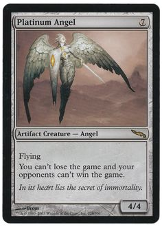 One of my favorite Magic the Gathering Cards. Yes, I have more than one. Favorite, that is. #MTG