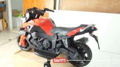 SIAMTOYS - มอเตอร์ไซค์เด็ก LNM918 ทรงBMW K1300R (สีแดง) Line id : @siamt...