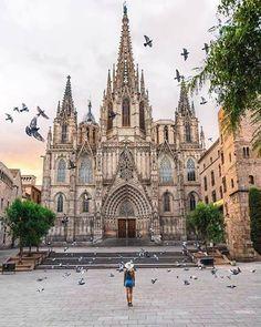 Barcelona Cathedral. 📷@barnadrift