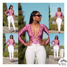 O Bodysuit  decote V é sem dúvida :A cara desse Verão !  .  .  #bodysuit #africanprint #style #fashion #skirt #african #ankarafashion #streetstyle #stylemeafrica #newbrand #newcollection #modaafricana #print #angola #dashiki #womanstyle #africanfashion #blackwoman #fashionxxxxx2 #blog #lookbook #africanstyle #blogger #love #likeforlike #body #african #africanfashionbloggers #ootd #