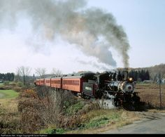 RailPictures.Net Photo: ARA 18 Arcade & Attica Railroad Steam 2-8-0 at Arcade, New York by Darrel Rathbun