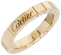 Cartier 18K Rose Gold Lanieres Wedding Band Ring Sz 3.75