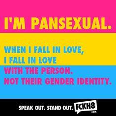 #FCKH8 #pansexual #pan