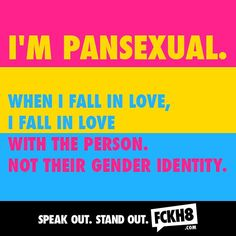#FCKH8 #pansexual #pan