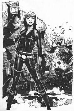 Black Widow by Chris Bachalo *