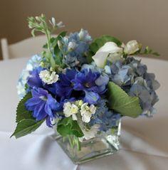 blue delphinium centerpieces - Google Search