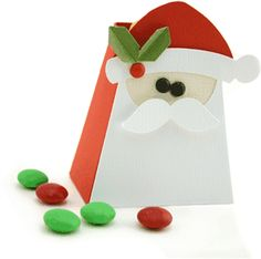 santa treat box by Pebbles in my Pocket