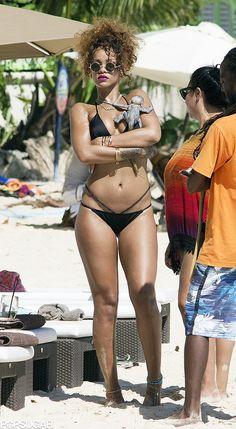 Rihanna on Vacation in Barbados August 2015 | POPSUGAR Celebrity