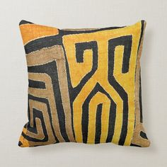 Tribal Pillow Fabric Linen Earth Fashion Craft Art Cloth Block Print Lampshade Design Reference Material