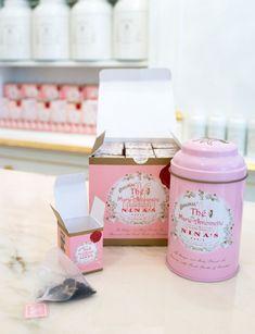 Le thé Original de Marie-Antoinette et les thés aromatisés de Nina's Paris