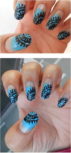 Nail Art Tutorial Using Nail Art Pen