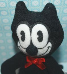 vintage Felix the cat plush