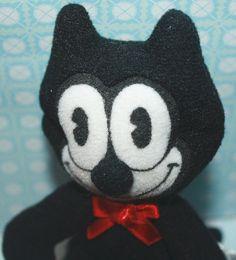 vintage Felix the cat plush