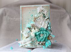Scrap-Imaginarium: Craft and turquoise