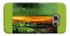 Twilight Field IPhone 7 Plus Case Printed with Fine Art spray painting image Twilight Field by Nandor Molnar (When you visit the Shop, change the orientation, background color and image size as you wish)