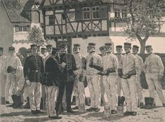 Stiefelappell - Holzstich nach Gemälde von Carl Röchling (1855–1920).