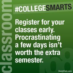 It's also not worth nothing but 8 a.m. and night classes.