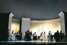 Prague Opera La Traviata, directed by Arnaud Bernard. Sets by Alessandro Camera. Thanks to @operandesign from #VerdiMuseum
