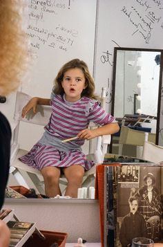 News Photo : Drew Barrymore being made up for a photo shoot as. Drew Barrymore Style, Drew Barrymore 90s, Hollywood Actresses, Indian Actresses, Baby Drawing, Most Beautiful Indian Actress, Kids Patterns, Charlie Chaplin, Toddler Girls