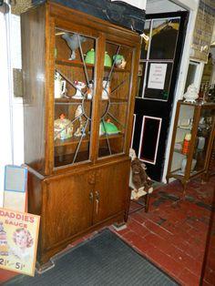 1930s ART DECO Display Cabinet Display Cabinet, Teak, Oval Coffee Tables, Furniture, Art Deco, Vintage Furniture, Coffee Table, Home Decor, Furniture Sale