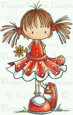 Whipper Snapper Designs is an expansive online store selling a large variety of unique rubber stamp designs. Cute Images, Cute Pictures, Stick Figures, Digi Stamps, Watercolor Cards, Whimsical Art, Cute Illustration, Cute Drawings, Rock Art