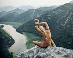 #mountains #naked #girl #wild