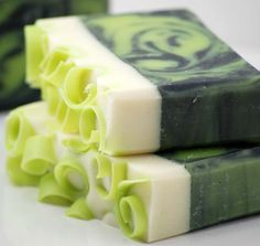 Coconut Lime Soap Handmade Cold Process, Vegan Friendly