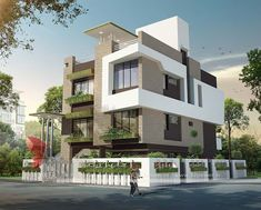 A great ultra modern bungalow design gives a complete new style statement to your dream project. Home Design, Villa Design, Modern House Design, Modern Bungalow Exterior, Bungalow House Design, Dormer House, Ultra Modern Homes, Modern House Plans, Facade House