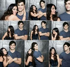 Shadowhunters | Emeraude Toubia and Matthew Daddario (Isabelle and Alec Lightwood)