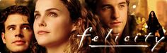 Felicity - I still miss this show so much.  Just started rewatching from the very beginning via Netflix :)