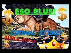 """FREE CROWNS! ESO PS4: Duplicated """"Crown Spending!"""" - ESO PLUS (w/ Dutch Commentary/English Subs) - YouTube"""