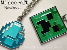 MInecraft Necklaces are so cool (and cheap to buy).