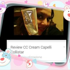 "Nuova #videoreview sul mio canale #youtube   "" Review Magica CC Cream Capelli Collistar ""  #makeup #instamakeup #cosmetic #cosmetics #fashion #hair #haircare #beauty #haircare #hair #cccream #collistar #beautyoftheday #videomaker #beautycare #beautyreview"