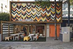 Дизайн кафе Padarie в Бразилии