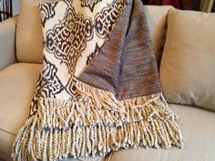 Moroccan Throw Blanket, Gray Taupe, Tribal Throw, Grey Chenille Blanket, Luxurious Large Throw, Designer Throw, Custom Throw Blanket by AlexsAttic on Etsy https://www.etsy.com/listing/249506327/moroccan-throw-blanket-gray-taupe-tribal