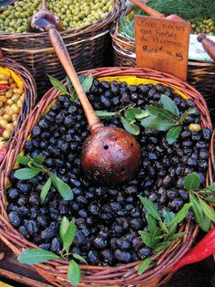 Tempting olives in Provence, France. Photo by Julien Azam