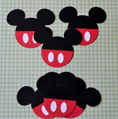 Mickey Mouse Die Cut Set