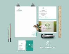 Zahnarzt in Holsterhausen - Konzept, Gestaltung Druck durch canberry.eu #Design #Zahnarzt #CI #Briefpapier #Visitenkarte
