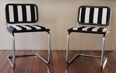 Retro Upcycled Chairs