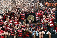 Le Stade Toulousain champion 2012, ravie de les avoir soutenu depuis les tribunes!