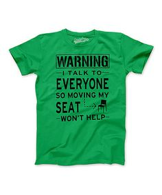 Loving this Green 'Moving My Seat Won't Help' Tee - Boys on #zulily! #zulilyfinds
