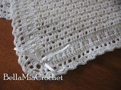 Ravelry: Heirloom Baby Blanket by BellaMia Crochet