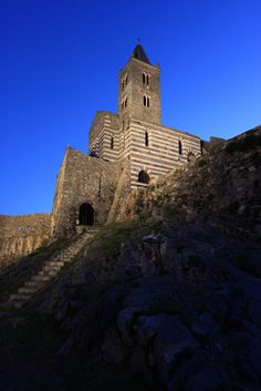 The Church of St. Peter - Portovenere, Liguria, Italy