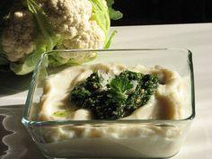 Karfiolkrém recept petrezselyem pestoval