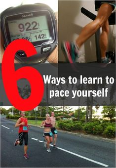 How to pace yourself while running outside