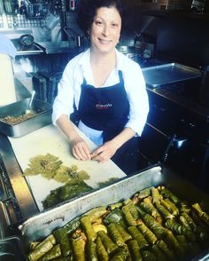 """Pinar is here tonight helping me bring that Turkish touch to Yalla! :) come visit us tonight from 5:00-10pm for dinner tonight (and stuffed grape leaves)"" - Chef Taylor, #yallaseattle #seattlerestaurants #restaurantpopup"