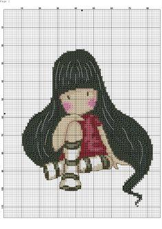 "Képtalálat a következőre: ""gorjuss cross stitch patterns"" Modern Cross Stitch, Cross Stitch Designs, Cross Stitch Patterns, Cross Stitching, Cross Stitch Embroidery, Embroidery Patterns, Stitch Character, Stitch Doll, Cross Stitch Boards"