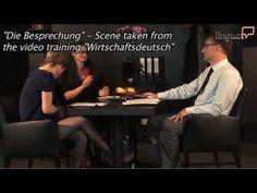 """Business German / Wirtschaftsdeutsch : """"The Meeting / Die Besprechung"""" by LinguaTV.com - YouTube"""