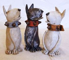 ceramic Bull Terriers